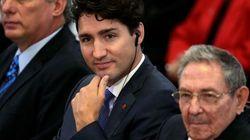 Mort de Castro: Justin Trudeau critiqué pour ses