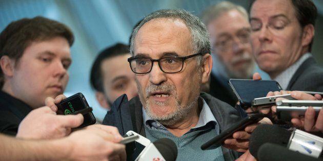 La voiture de Mohamed Labidi, le président du Centre culturel islamique de Québec, a été