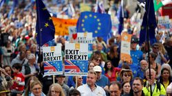 À Londres, des milliers de personnes défilent contre le