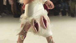 Les vagins à l'honneur dans ce défilé de la semaine de la mode à New