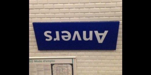 Les 13 poissons d'avril du métro parisien font