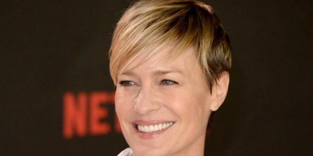Robin Wright attending the House Of Cards Season 3 World Premiere held at The Empire Cinema, Leicester...