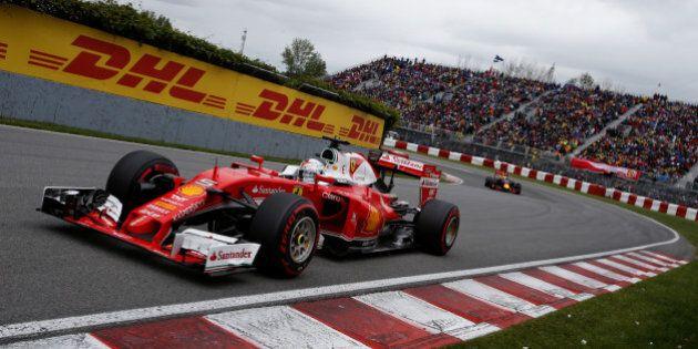 Formula One - Canadian Grand Prix - Montreal, Quebec, Canada - 12/6/16 - Ferrari F1 driver Sebastian...