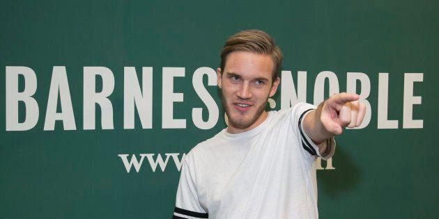 Le YouTubeur PewDiePie critiqué à nouveau pour
