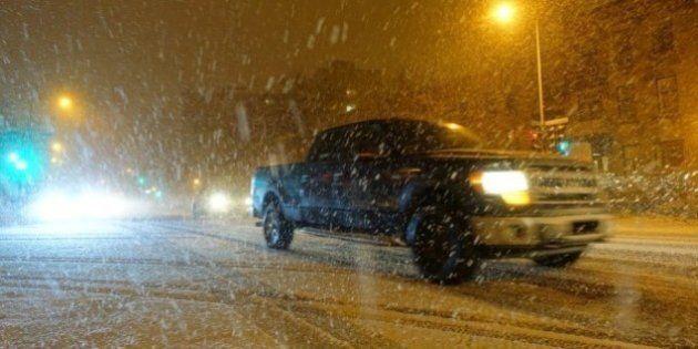 L'hiver s'installe dans le sud du Québec et de l'Ontario: prudence sur les