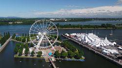 La Grande roue de Montréal ouvre demain, mais ce ne sera pas