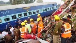 Vidéo du train déraillé qui a fait une centaine de morts en