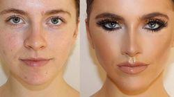 Ces métamorphoses maquillage vont vous couper le