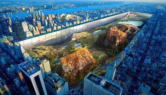 Central Park réinventé par un projet d'architecture totalement fou