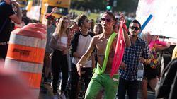 Découvrez les images de la première Électro Parade de