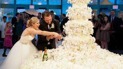 21 gâteaux de mariage aussi spectaculaires que