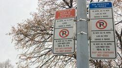 Où distribue-t-on le plus de contraventions de stationnement à