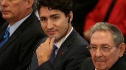 Trudeau rassure les Cubains: le Canada ne s'alignera pas sur