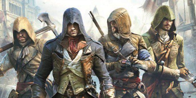 Une image d'Assassin's Creed Unity, produit par le studio Ubisoft à