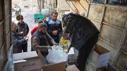«Nos dépôts sont vides»: dernière distribution d'aide à
