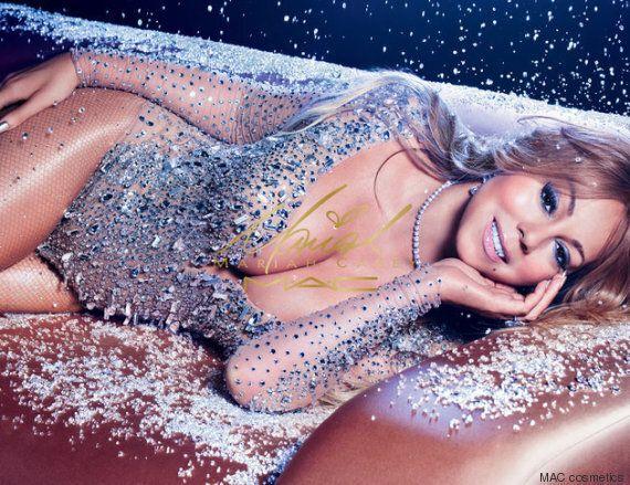 Mariah Carey lance une collection de maquillage MAC remplie de