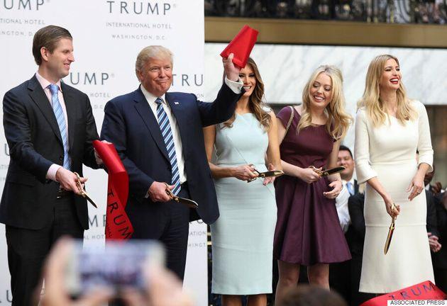 Non, les enfants de Trump ne pourront pas être au