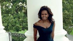 Michelle Obama très glamour en couverture de