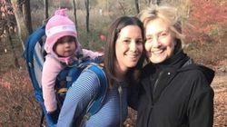 Cette maman a eu la même idée que Hillary Clinton pour se remettre de