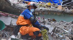 Un autre fort tremblement de terre frappe