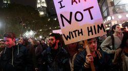 Manifestations aux États-Unis après la victoire de