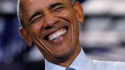 Obama ne peut s'empêcher de blaguer après la défaite de