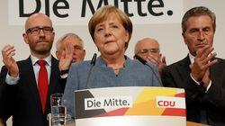 Victoire de Merkel, percée historique des nationalistes en