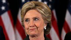 Hillary Clinton sort de son