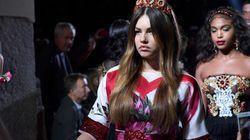 Celle désignée comme la «plus belle petite fille au monde» défile à la semaine de la mode de