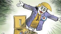 Les caricaturistes s'éclatent après la victoire de