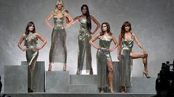 Claudia, Naomi, Cindy... : les super top modèles des années 90 défilent pour