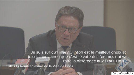 Les maires Coderre, Labeaume et Lehouiller parlent de la présidentielle
