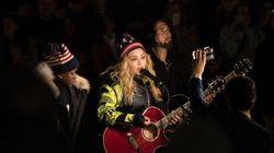Madonna appuie Hillary Clinton avec un spectacle