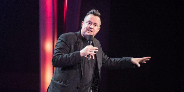 Mike Ward, premier Québécois à gagner le prix Comedic Artist of the Year au Canadian Comedy