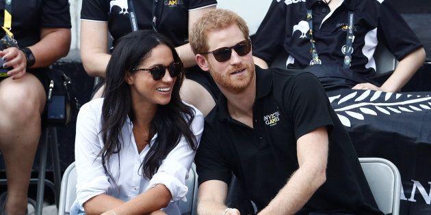 Le prince Harry et Meghan Markle s'affichent ensemble à