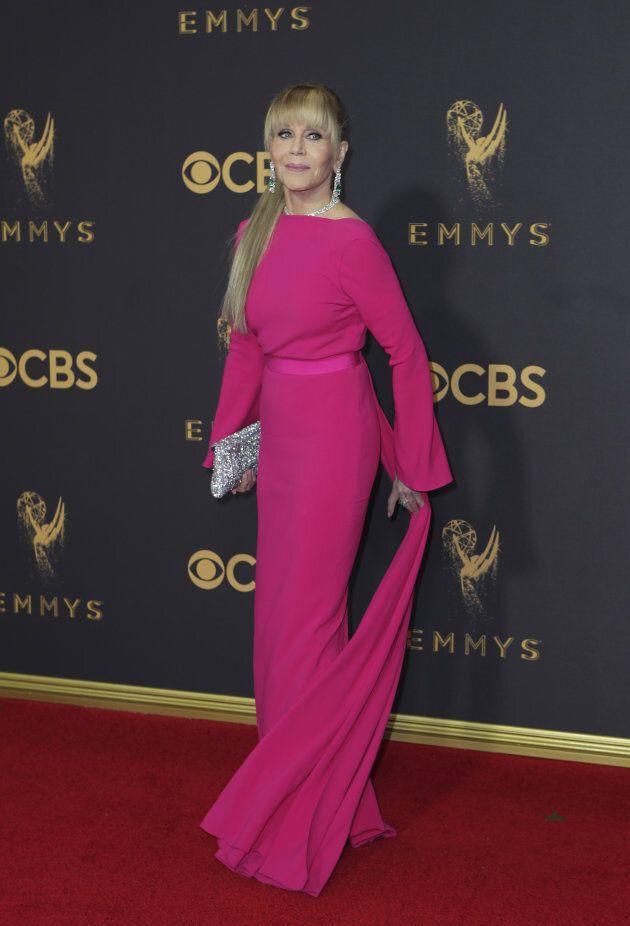 Jane Fonda est plus belle que jamais sur le tapis rouge des Emmy
