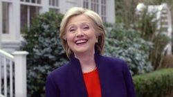 Hillary Clinton conclut sa campagne avec une touchante vidéo