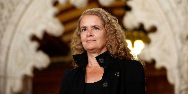 Discours en anglais de Julie Payette sur Beau Dommage: Mélanie Joly avare de
