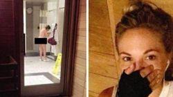Le mannequin qui a publiquement humilié une femme nue est accusé au