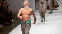 Ce mannequin de 80 ans est tout simplement