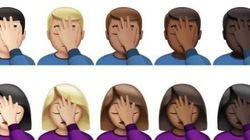On a tous un millier de raisons d'utiliser le nouvel emoji «facepalm»
