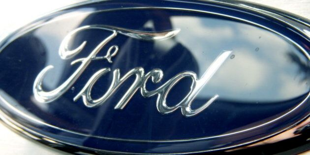 This is a Ford logo mounted to the dash of my dad's