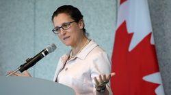 Libre-échange: Chrystia Freeland promet un programme de