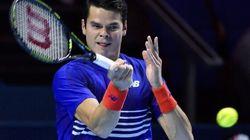 Tennis: Raonic est une fois de plus