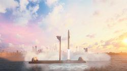 Avec sa fusée, Elon Musk veut vous faire aller de Paris à New York en 30