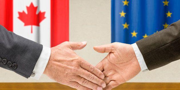 L'Accord économique et commercial global entre le Canada et l'Union européenne est entré en