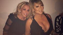 Britney Spears et Mariah Carey ont passé du bon temps