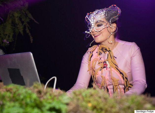 Jasette avec Björk à Red Bull Music Academy