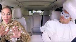 Voyez le «Carpool Karaoke» incroyable de Lady