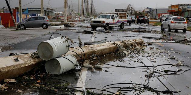 Plus de 150 Canadiens ont demandé l'aide du gouvernement, après le passage de l'ouragan